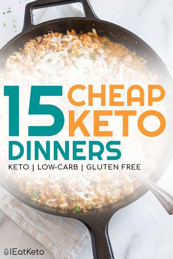 21 billige Keto-Mahlzeiten – Rezepte für Keto mit kleinem Budget. Schauen Sie sich diese Liste o …   – Frugal Recipes and Tips