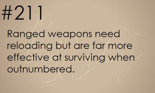 Zombie Apocalypse Survival Tip #211