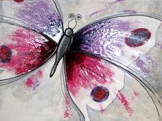 cuadros de mariposas en acrilico - Buscar con Google