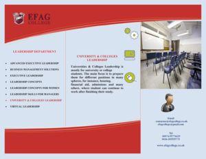 University & #College Leadership #Courses - Egyetem és #Főiskola Vezetői Képzések #Angol Nyelven