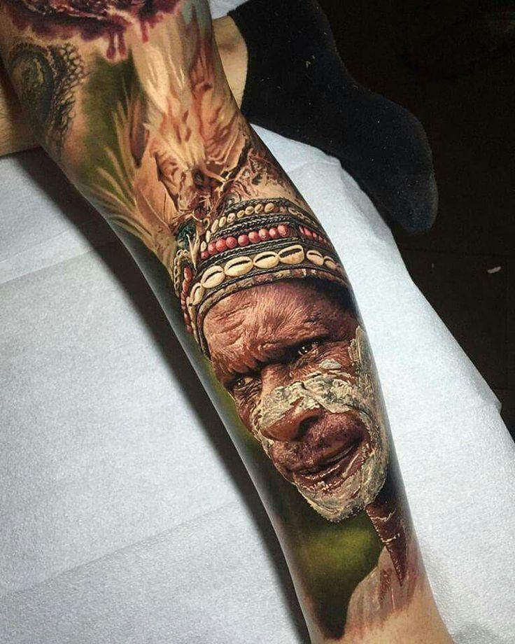 World's best tattoo design. So realistic - Steve Butcher