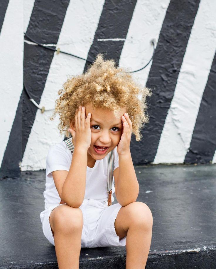 #baby #blackandwhite #afro #mixed #miami #miamibeach #love #french #american #african #shanivarela #capverdian #curly #caboverde #italian #biracial #babymodel #model #babyboy #metisse #blond #cutekid  #instafashion #babywithswag #cutekidmodels #fashionkids #hair by shanivarela
