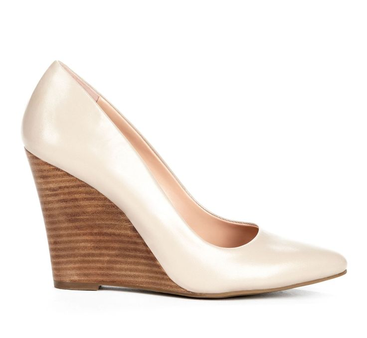 Neutral Tone Stacked Wedge