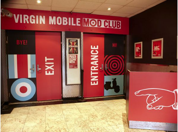 Virgin Mobile Mod Club Theatre by Ryan Teixeira, via Behance