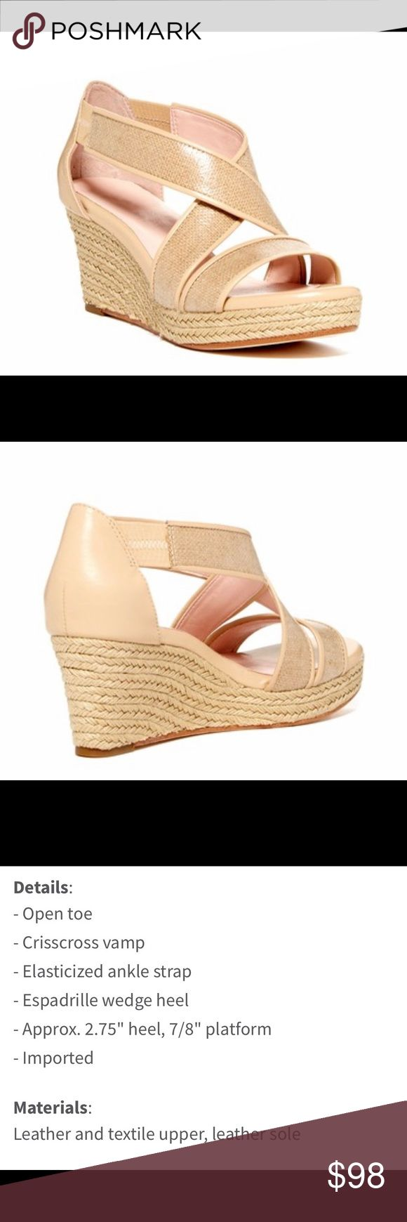 TARYN ROSE Krissy Espadrille Wedge Sandals 7.5 TARYN ROSE Krissy Espadrille Wedge Sandals Size 7.5. Stunning and In MINT Condition. Worn Only Once. All Signs of Wear are On The Soles. Details Included In Pictures. REASONABLE OFFERS ARE ALWAYS welcome! $219 Taryn Rose Shoes Espadrilles