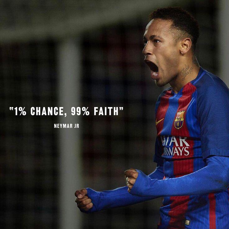 1% Chança e 99% fé