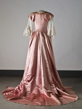 Robe a la turque, ca. 1789; Nordiska museet NMA.0052362