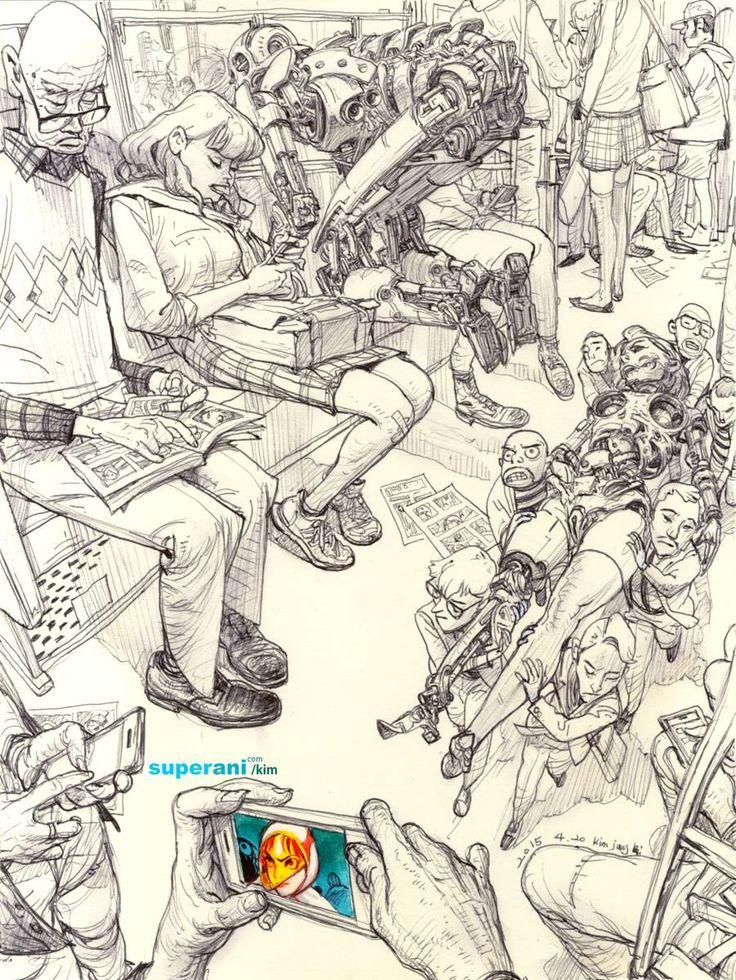 Art by JungGi Kim *