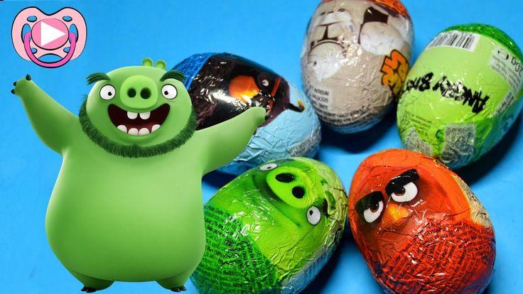 Ovos surpresa dos Angry Birds