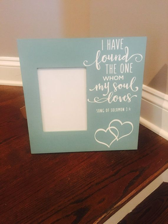Song of Solomon 5x7 Frame by InspiredbyhomeDesign on Etsy