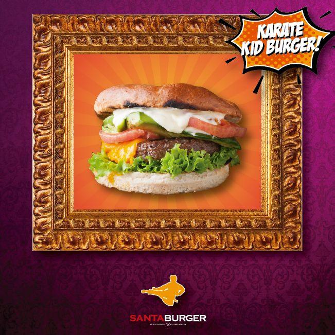 Una de las burgers más buscadas es pequeña pero letal, nuestra única y grande #karatekidburger!