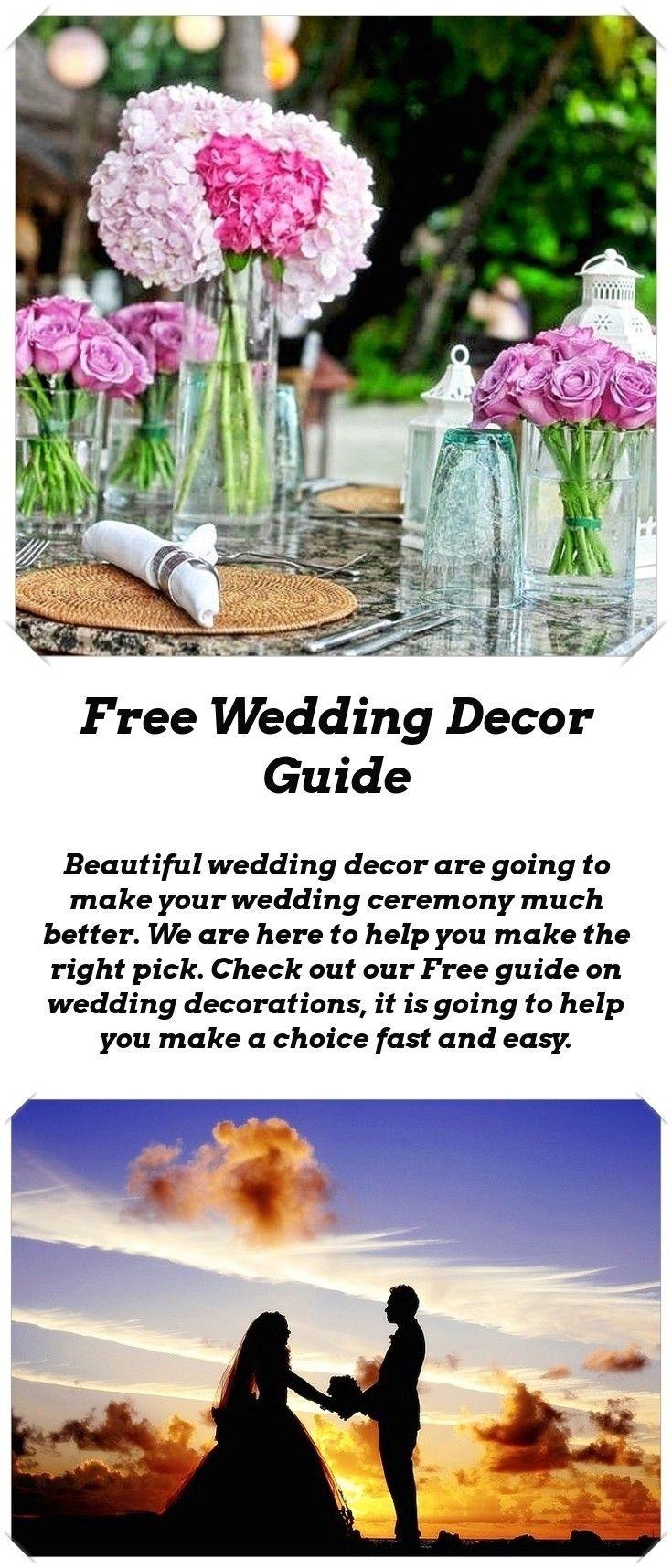 Wedding decorations to make  Decor For Wedding  Wedding tables Table decorations and Wedding