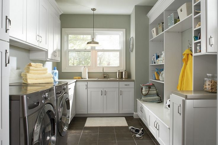 Laundry room and back entry combinations are both popular and practical - Decoist