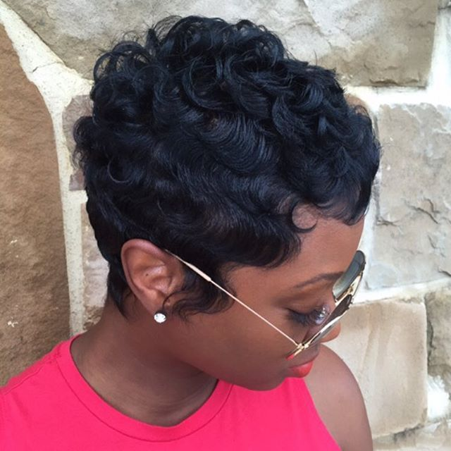 25 beautiful short weave hairstyles ideas on pinterest weave 19 cute wavy curly pixie cuts we love pixie haircuts for short hair short curly weave hairstylesshort black pmusecretfo Gallery