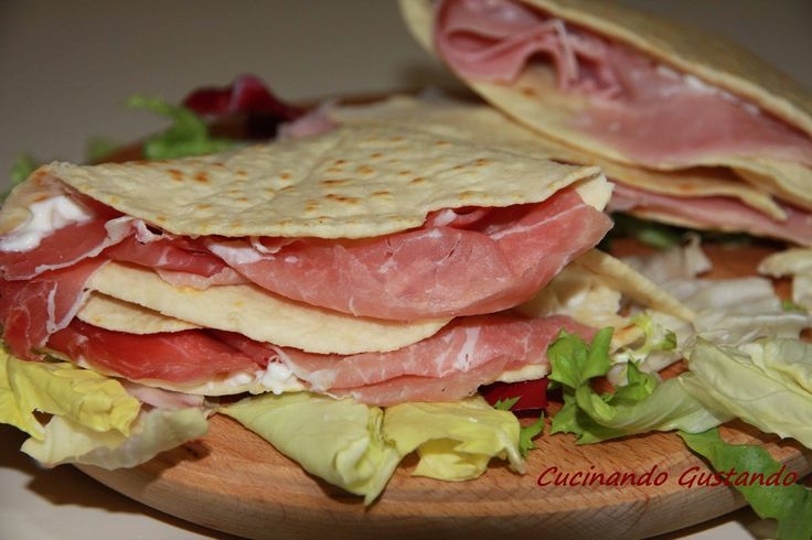 Piadine light fatte in casa