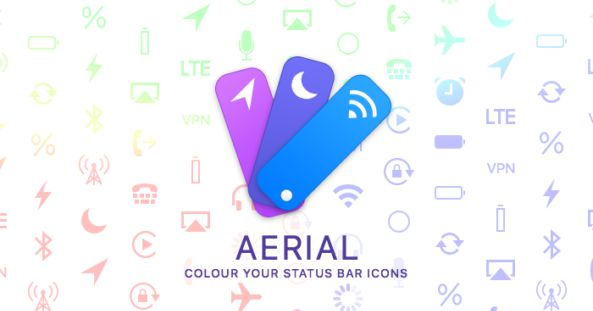 http://ift.tt/2kqhbOd Tweak Aerial:  Lets you Color your Status bar's indicator icons ! http://ift.tt/2kKekvD  Aerial is new jailbroken cydia tweak which lets you color and personalize your status bars indicators icons beautifully. With Aerial you can select from a wide variety of colours that suits your iOS status bar.  Aerial is available in Cydia via BigBoss Repo for $1.99 developed by Surenix which lets your change your all status bars indicator like wifi battery Bluetooth time etc with…