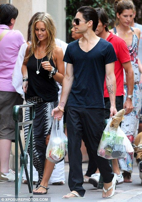 JARED LETO and Girlfriend PICTURES PHOTOS and IMAGES