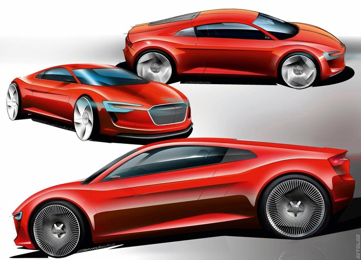 2009 Audi e tron Concept