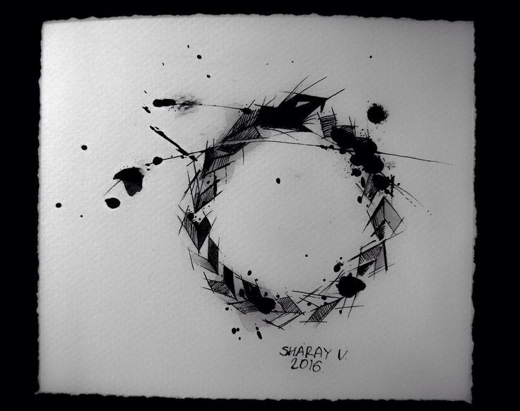 Amazing design for tattoo. #valerysharay #uroboros