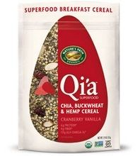 Nature's Path Qi'a Superfood Cranberry Vanilla Chia, Buckwheat & Hemp Cereal (10×7.94 Oz) – ResellerHub.store  #food #recipes #grocery