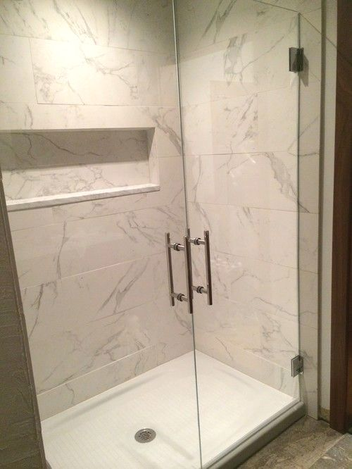 Walk in shower replace tub, Kohler cast iron base and ...