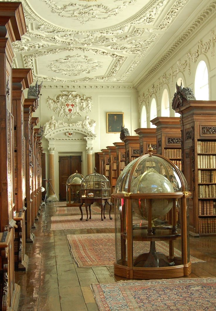Queen's College Library, Oxford University, Oxford, United Kingdom