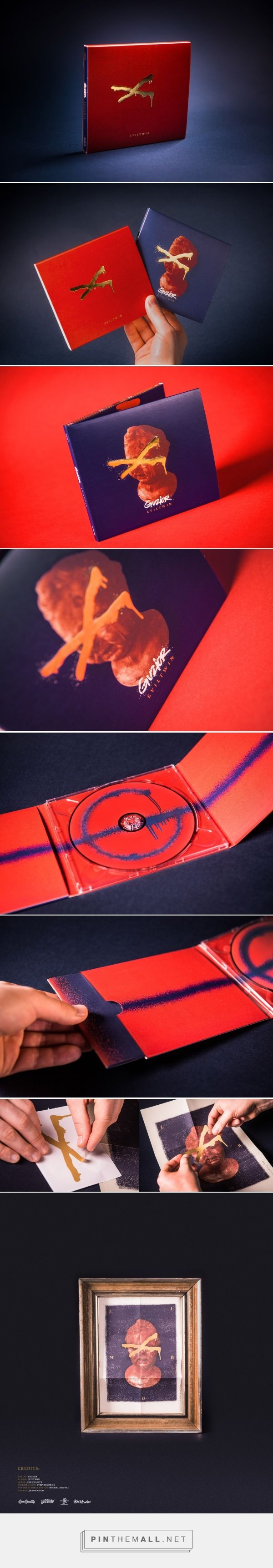 Guzior - Eviltwin / Digipack - Packaging of the World - Creative Package Design Gallery - http://www.packagingoftheworld.com/2017/03/guzior-eviltwin-digipack.html