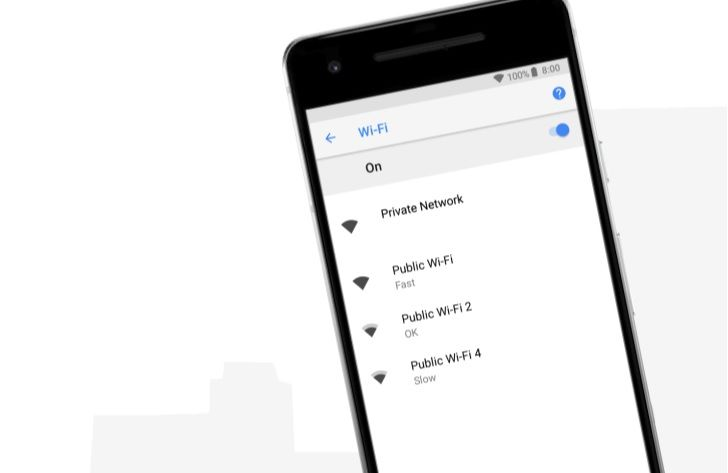 Google's Wi-Fi Speed Labels For Android 8.1 Now Rolling Out #Android #Google #news