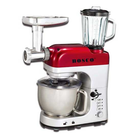 BOSCO Kitchen Food Mixer AS1200HD - inc many extras including mini grinder, blender, mincer, etc $439 http://www.boscoappliances.com/products/kitchen-stand-mixers/bosco-as1200hd-multifunction-stand-mixer