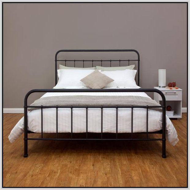 Best 25+ Metal bed frame queen ideas on Pinterest   Ikea ...
