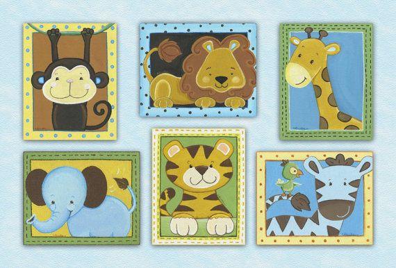 Jungle Animals Nursery
