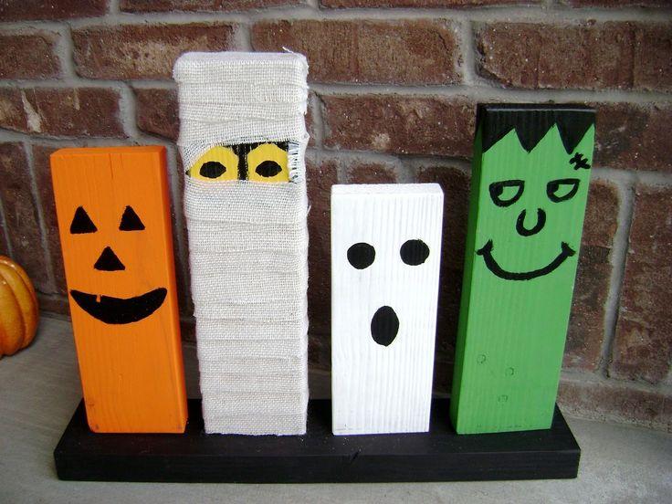 Best 25 wooden halloween decorations ideas on pinterest wooden 22 do it yourself halloween decorations ideas solutioingenieria Gallery