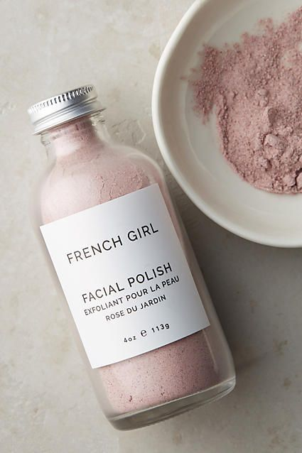 French Girl Organics Facial Skincare Polish - Finely ground organic botanical powders provide gentle, effective exfoliation without over-cleansing.
