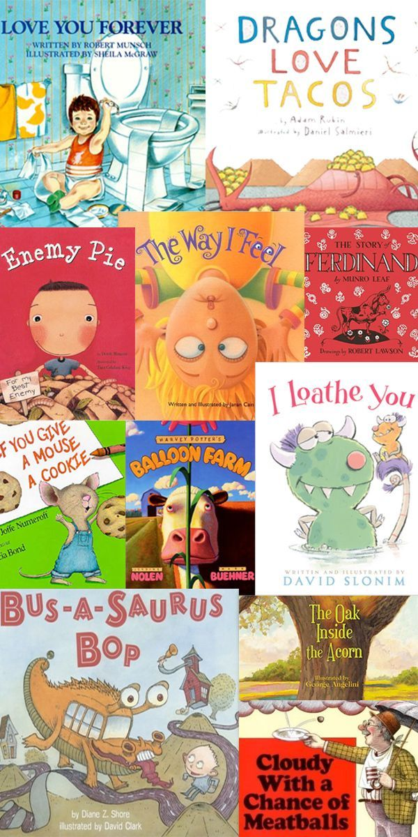 The Top Books Every Home Should Have...for every age! >> Top 10 Children's Picture Books. What's your favorite?