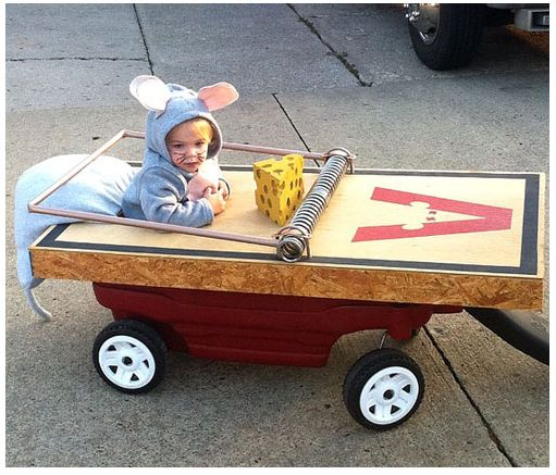10 Clever and Creative Costumes for Halloween - 1 year old halloween costume ideas