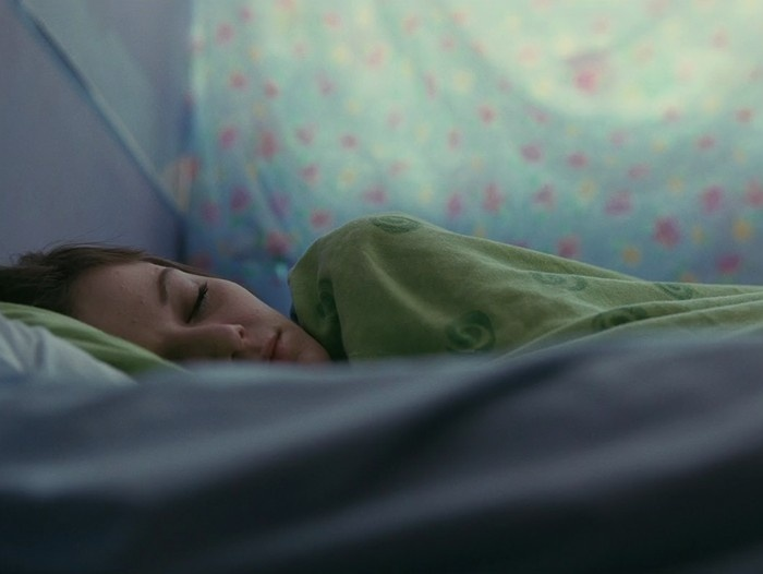 Katie Jarvis in the movie Fish Tank (by Andrea Arnold) (2009)