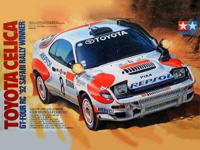 Boxart Toyota Celica GT-Four RC 24119 Tamiya