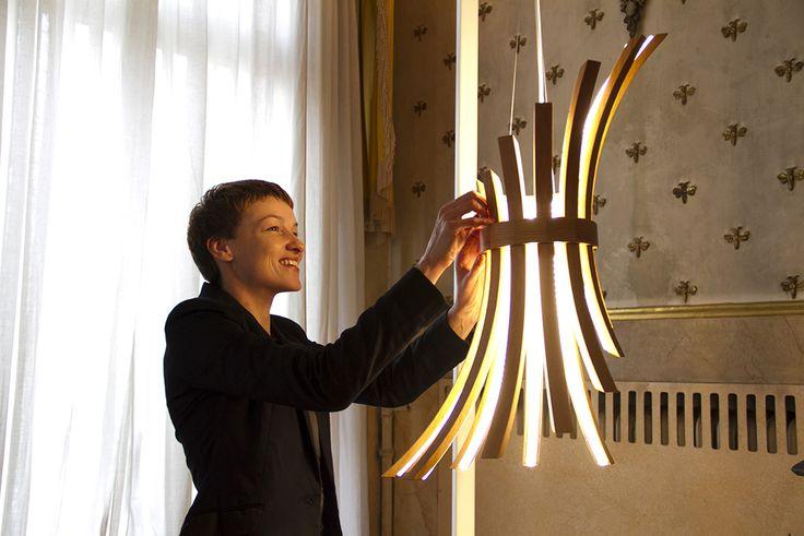 Filo Lamp by Laura Modoni