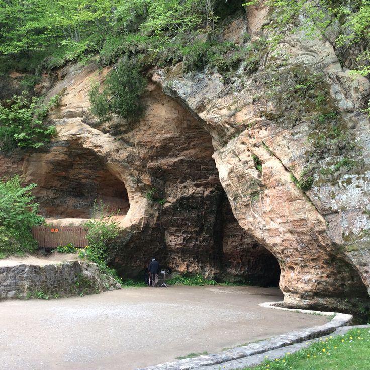 Gutmans cave in Sigulda, Latvia