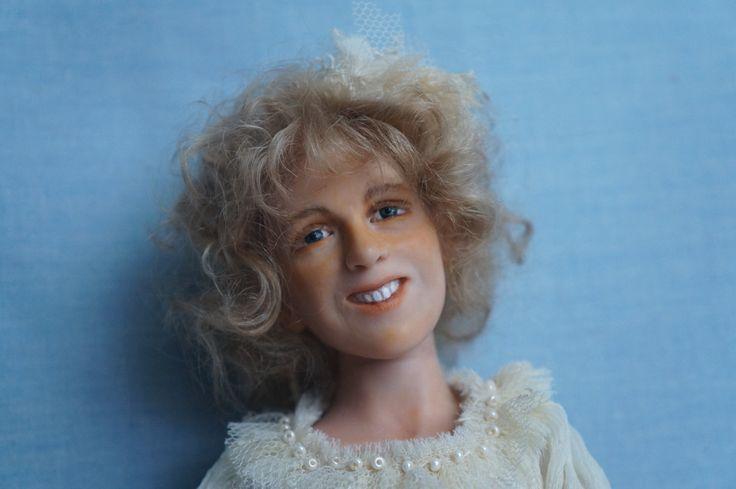 Кукла Синтия by artdollcom on Etsy