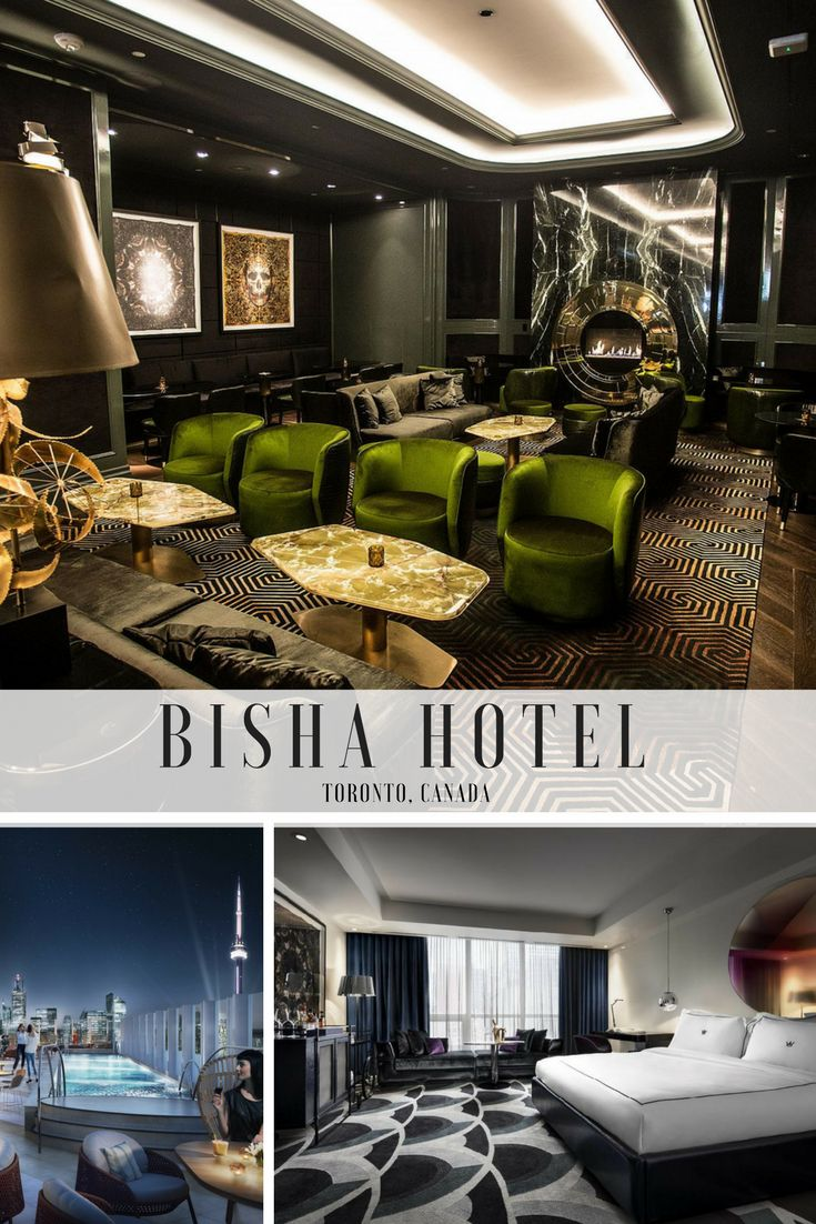 Five Reasons to Hang Your Hat at Toronto's New Bisha Hotel via Canadian Traveller Magazine. Words by Terrilyn Kunopaski. #hotel #toronto #ontario #downtown #sleep #stay #accommodation