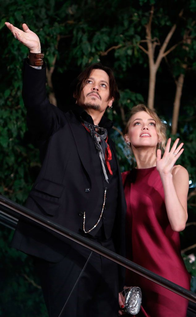 Johnny Depp and Amber Heard Marry (Again!) in Intimate Ceremony on Actor's Private Island: All the Details!  Johnny Depp, Amber Heard