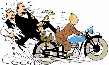 How could they do this to Tintin?