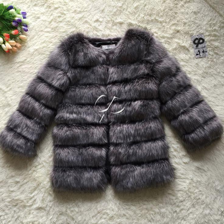 CP Brand Long Fur Coat Winter Women Faux Fox Fur Coats Furry Luxury Woman Fake Fur Jacket Plus Size Faux Fur Coat Jacket