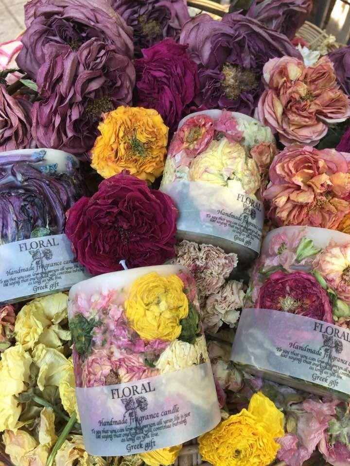 いずれが花か、キャンドルか。 雑誌掲載の母の日関連企画で、 キャンドルをお取り扱い頂きました 「私の部屋」丸の内店(お取り扱い終了しております) サラグレ...