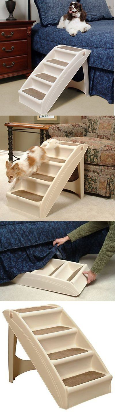 Ramps and Stairs 116389: Folding Dog Stairs Puppy Cat Pet Steps Portable Tall High Bed Car Ladder Ramp -> BUY IT NOW ONLY: $36.79 on eBay!