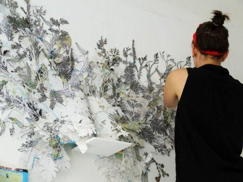 Jessie Pittard - Lustik. Artist Open Studios run 3 weekends each year when you can visit local artists.