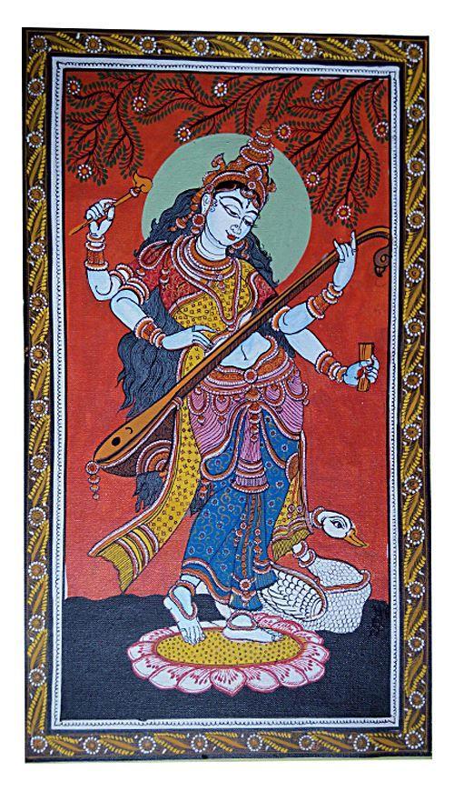 :Hand painted Patachitra Painting