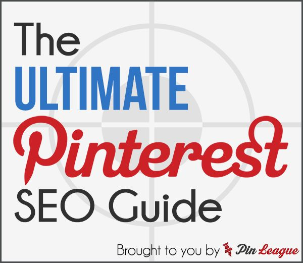 The Ultimate Pinterest SEO Guide Re-Pinned by Penina Penina Rybak MA/CCC-SLP, TSHH CEO Socially Speaking LLC Director: The NICE Initiative for Female Entrepreneurship Website: niceinitiative.com Twitter: @PopGoesPenina Tumblr:  The NICE Initiative http://niceinitiative.tumblr.com Book Blog: http://niceinitiativeblog.wordpress.com