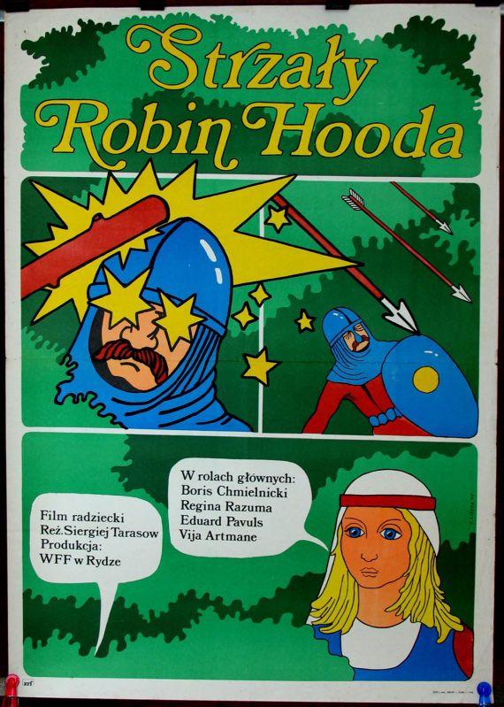 The Arrows of Robin Hood. Poster for Soviet Union by artwardrobe